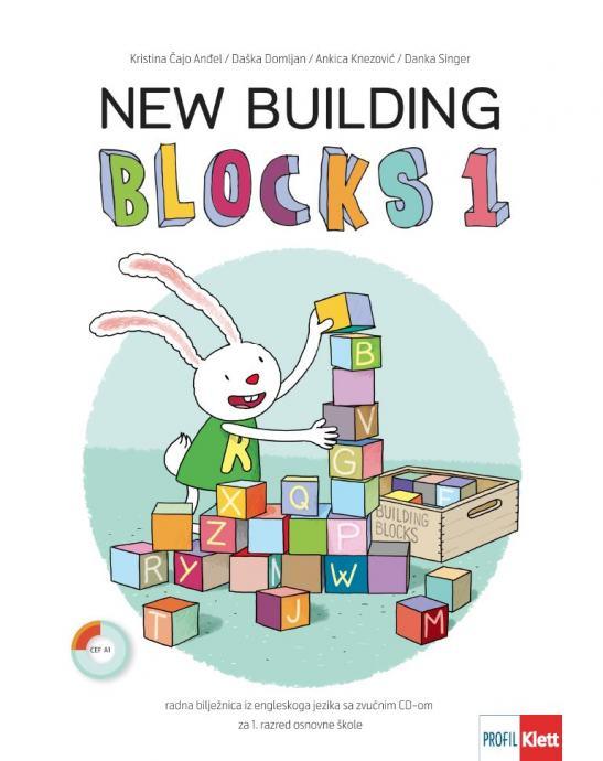 NEW BUILDING BLOCKS 1 - Radna bilježnica iz engleskoga za 1. r. O.Š.