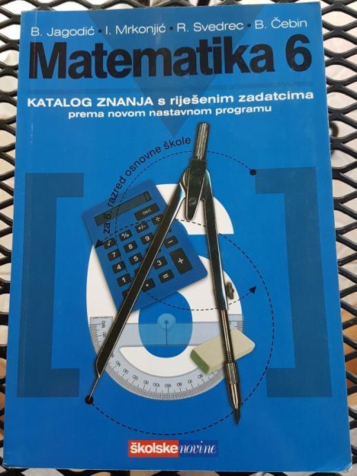 MATEMATIKA 6 knjige