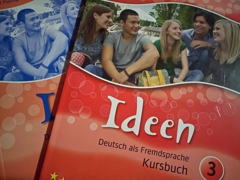 Hueber: IDEEN 3 udžbenik i radna bilježnica PRODANO