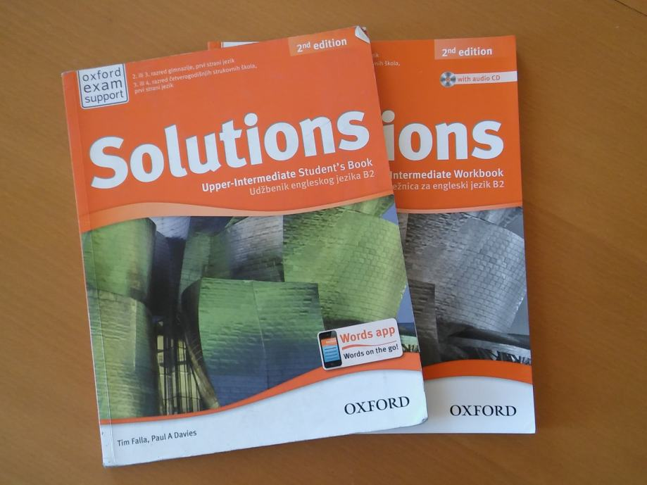 Solutions  2nd Edition  Upper