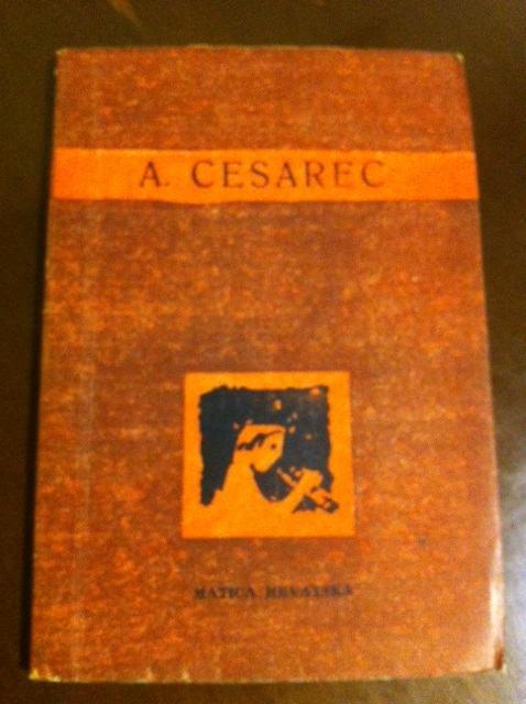 August Cesarec Izabrane Pjesme 1961