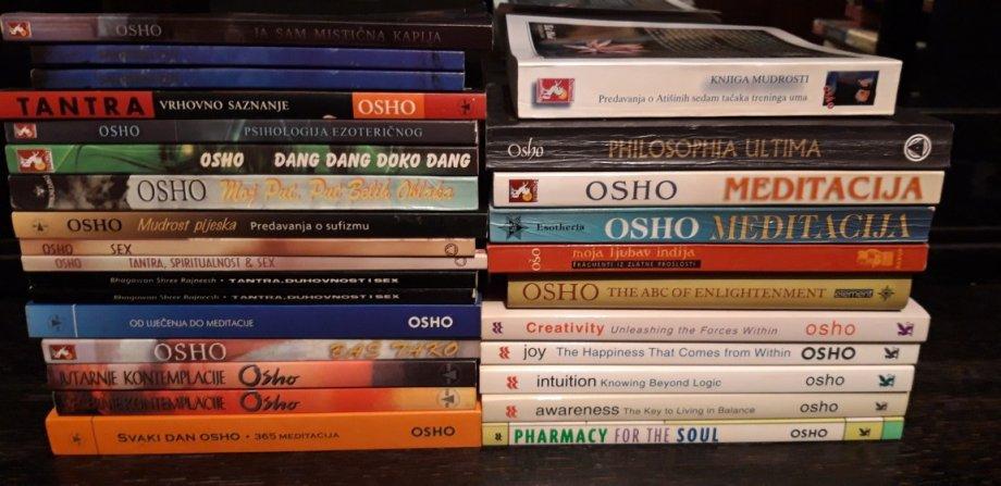Osho knjige, Ošo knjige