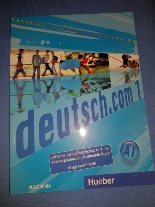 Deutsch.com 1 - novi udžbenik za gimnazije i strukovne škole