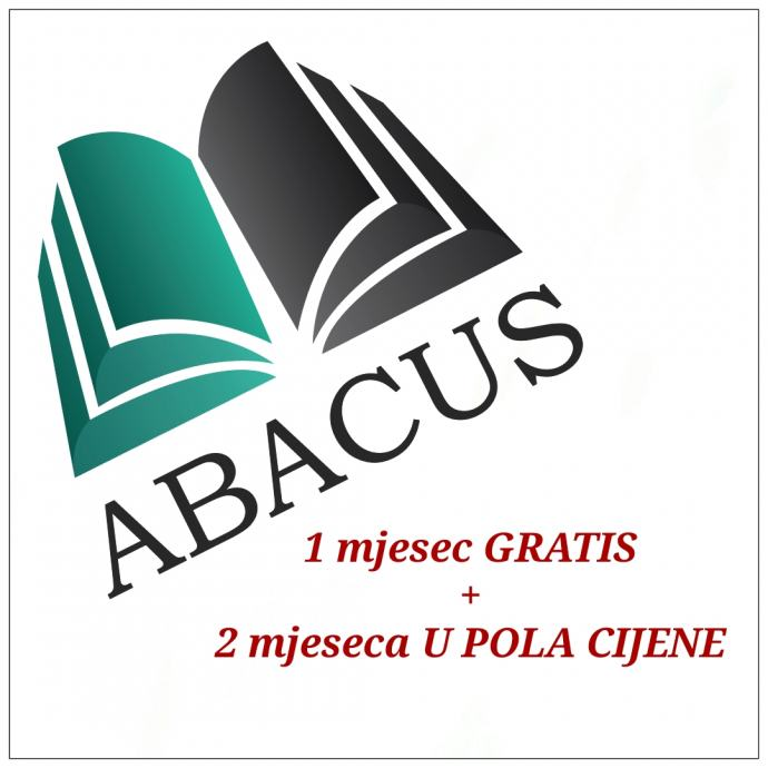 Knjigovodstvene usluge ABACUS, G.STUPNIK !!! ''AKCIJA 1+2''