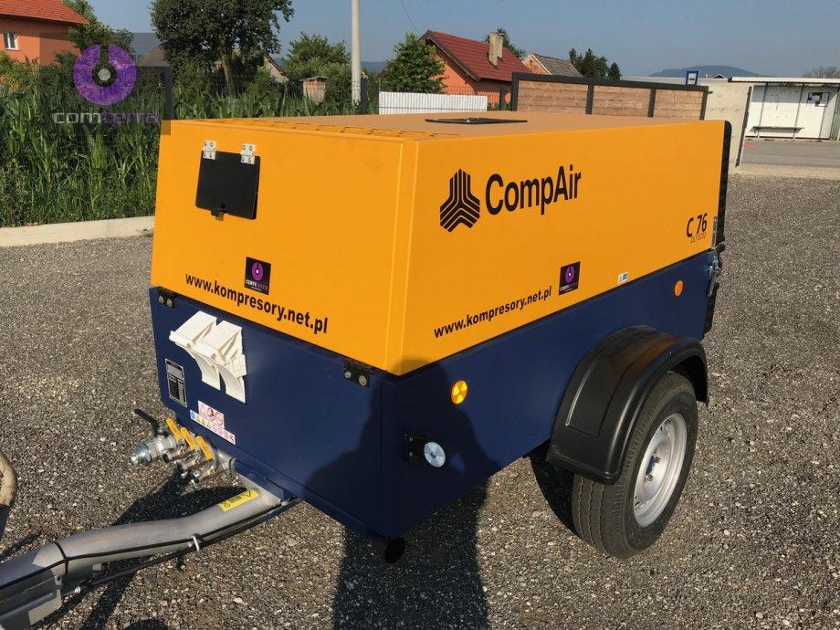 Rabljeni građevinski kompresor za zrak COMPAIR