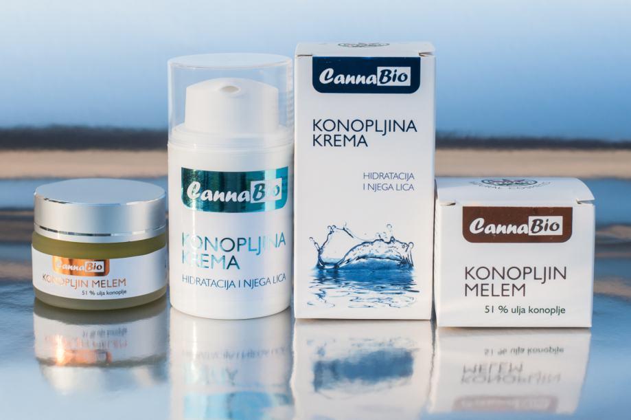 CannaBio BEAUTY paket proizvoda konoplje - 100% HR - uštedite 34 kn