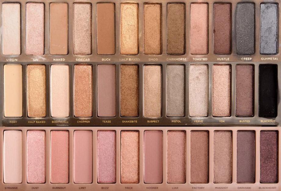 Urban Decay Naked 1, 2, 3 palete - novo! sjenila za oči
