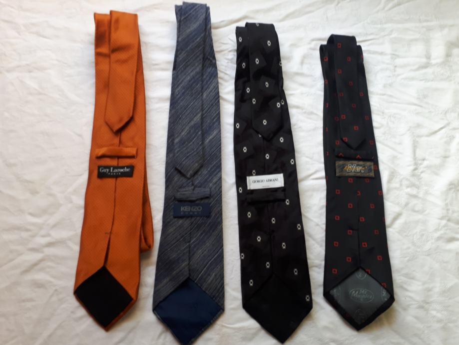 Muške kravate raznih marki komad 30 kn.