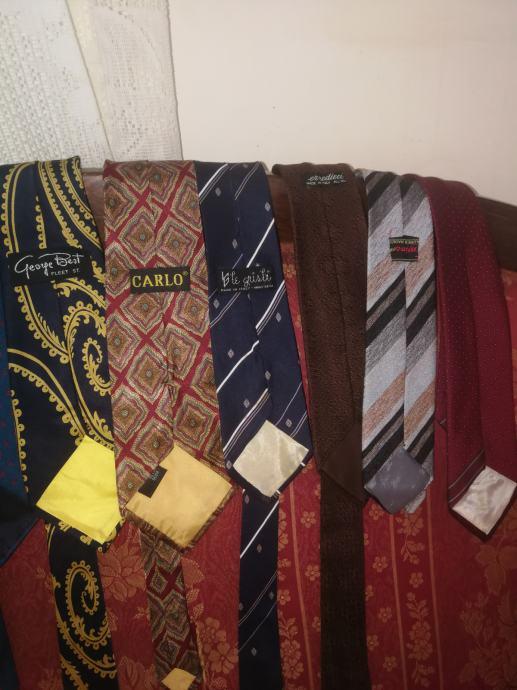 Svilene kravate,35 komada