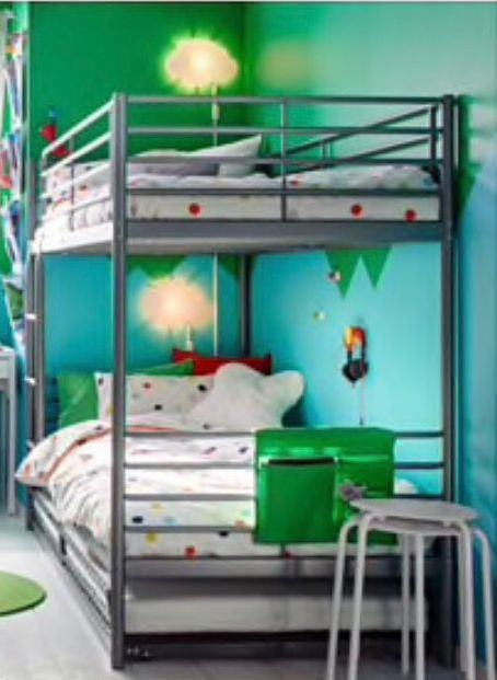 Krevet na kat , metalni
