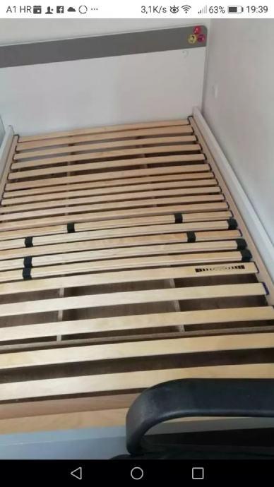 okvir kreveta 120x200cm. Hitno za 190 kn.