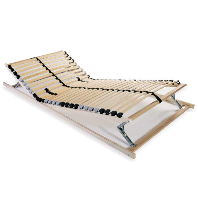 vidaXL Podnica za krevet s 28 letvica i 7 zona 70 x 200 cm 246455