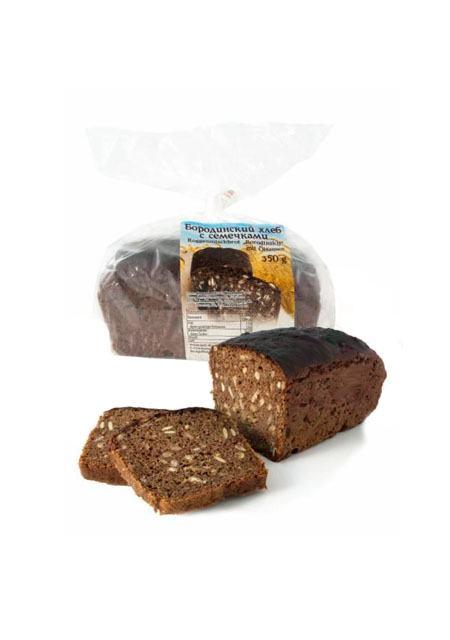 Kruh Borodinskij sa sjemenkama 350g