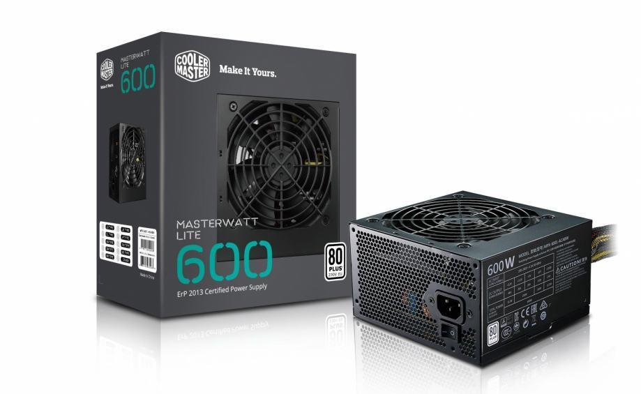 Napajanje 600W, COOLERMASTER MASTERWATT LITE 600W, PCI-e 6+2