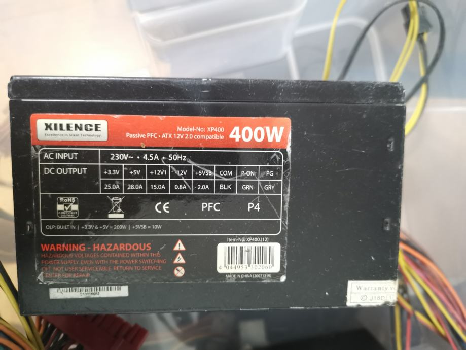 Xilence XP400, 400w