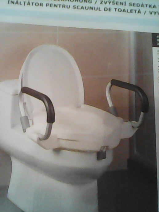 Wc Povisenje Sa Ruckama Sjedalo Za Wc Skoljku Za Invalide Novo Hitno