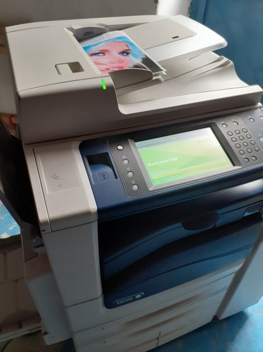 Xerox Workcentre 7830 SA OFFICE FINISHER-om