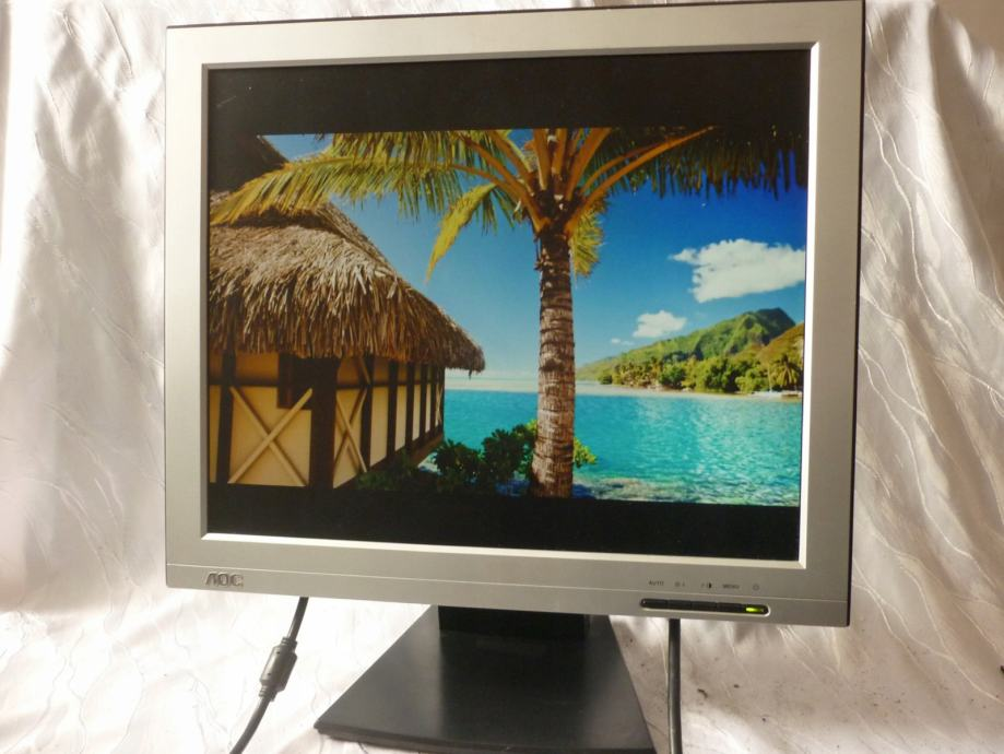 "AOC 172S  LCD monitor 17"" ispravan"