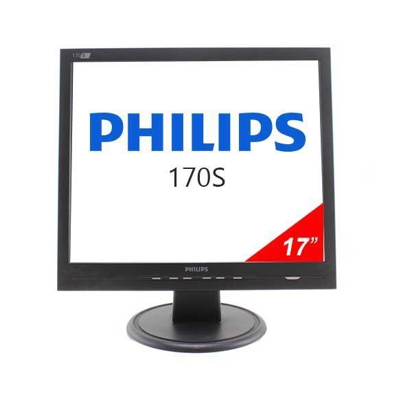 """~ Philips 170S7FS 17"""" LCD monitor + dodatna tipkovnica ~"""