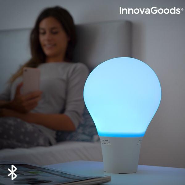 LED Lampa silikonska na dodir, žarulja sa zvučnikom – Silitone