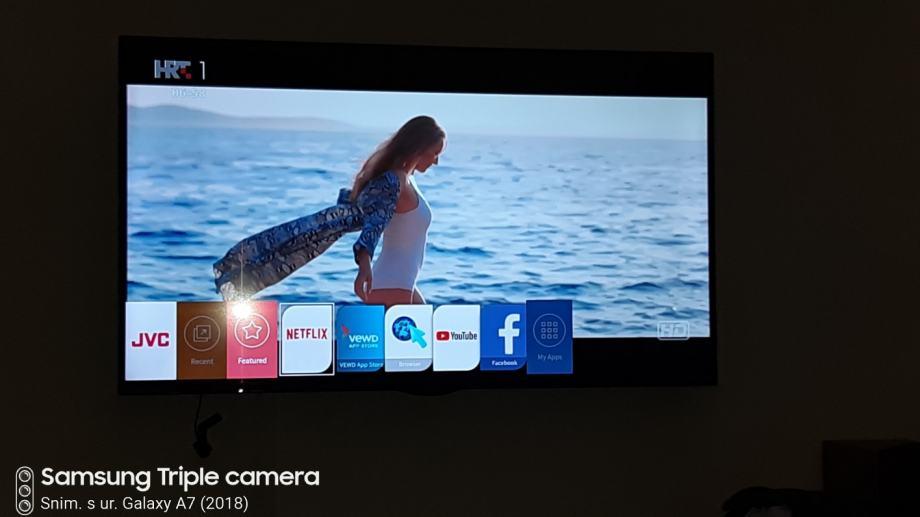 "LED TV 55"" JVC LT-55VU73K, 4K UHD, DVB-T2/C/S2, HEVC, SMART,"