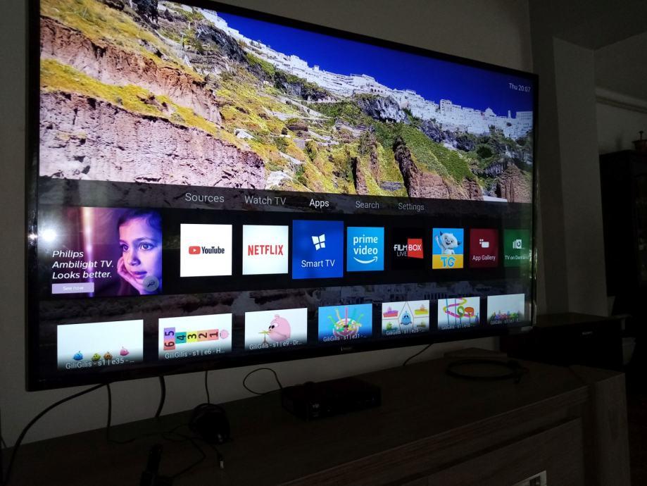 Philips 55PUS6503, 140cm, 4K,DVB/T2/S2,star 1g, račun i gar. 05/2021,