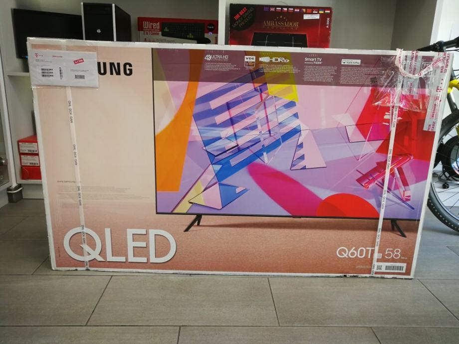 Samsung QE58Q60 QLED 146cm Smart Tv 4K, NOVO, GARANCIJA, R1 račun
