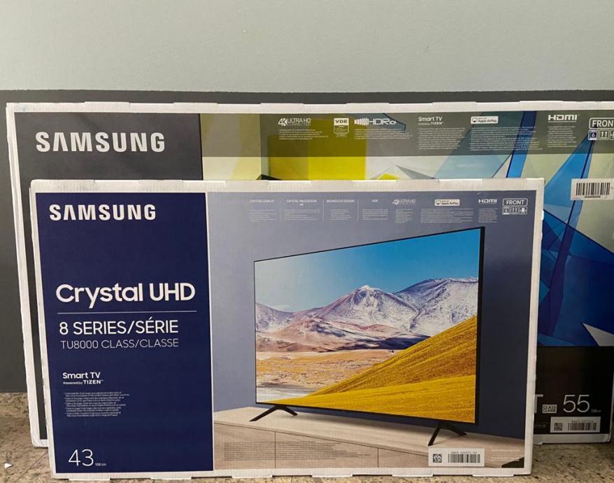SAMSUNG LED TV 43TU8072UXXH, UHD, SMART 2020