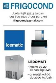 Ledomati ICEMATIC svi modeli,kapaciteta od 20 do 2200 kg/24h