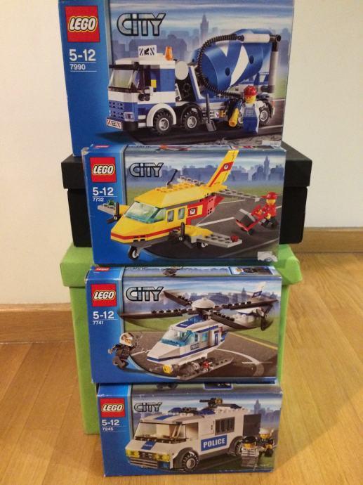 4 kutije lego city