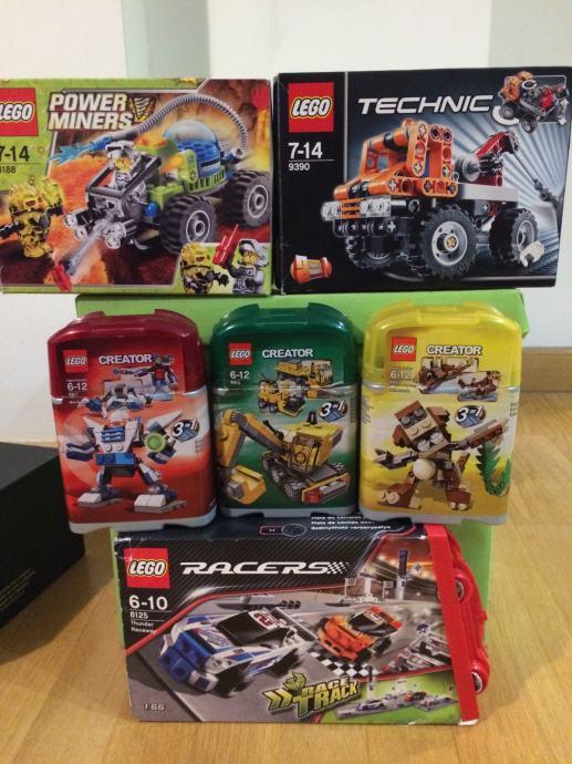 6 lego kutija