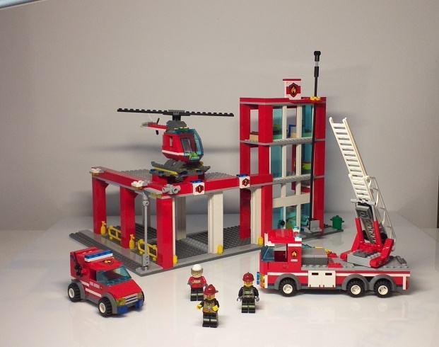 Lego 60004 Vatrogasna postaja