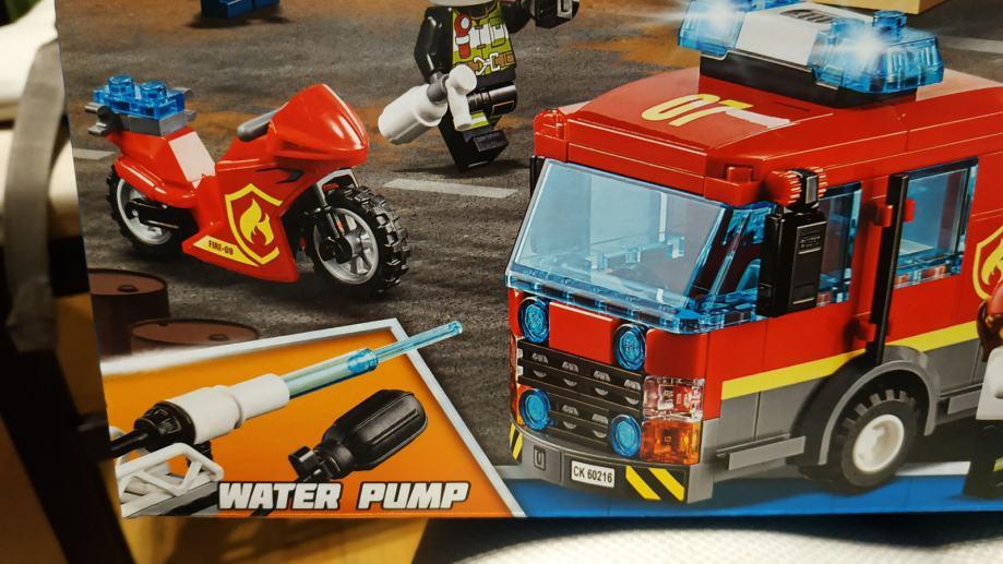 LEGO City 60216 - Downtown Fire Brigade - NOVO