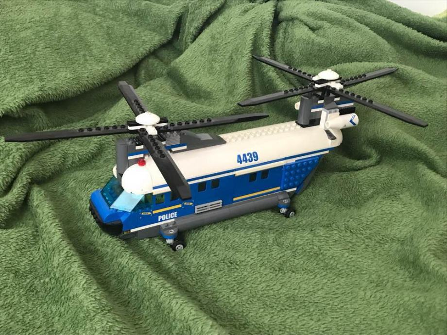 Lego Police Heavy Duty Helicopter 4439