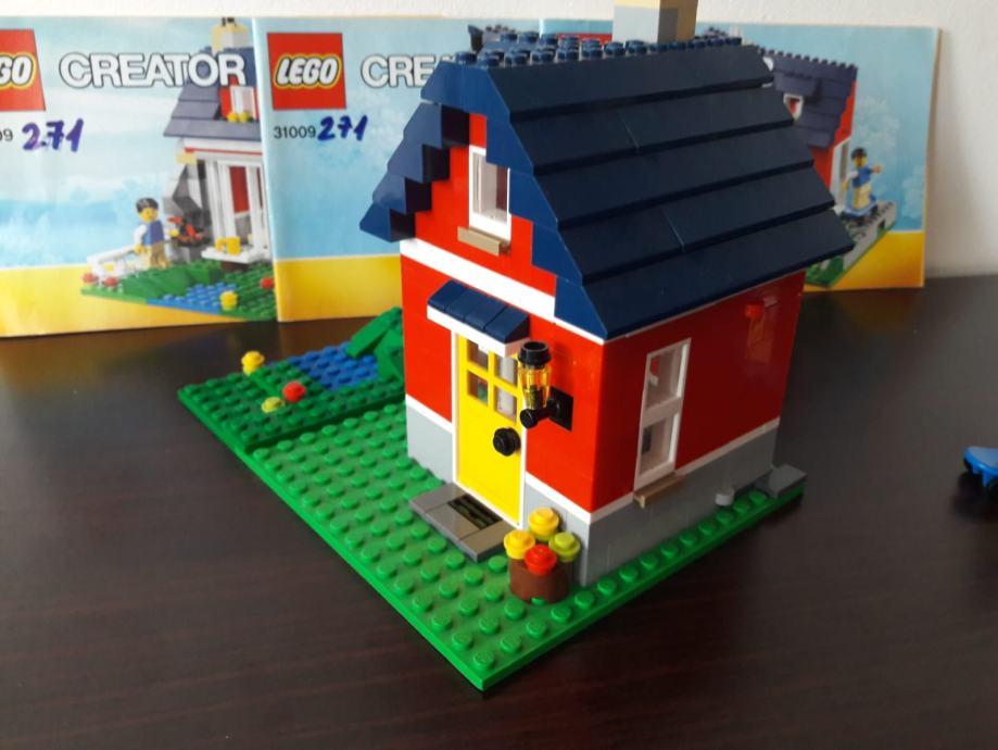LEGO 31009,Mala koliba,kao nov