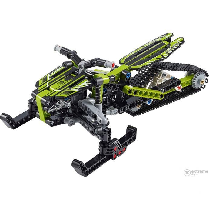 LEGO Technic 42021 Snow Mobile, Sastavljeno