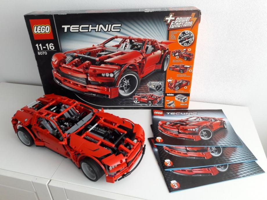LEGO Technic 8070 Supercar, Sastavljeno