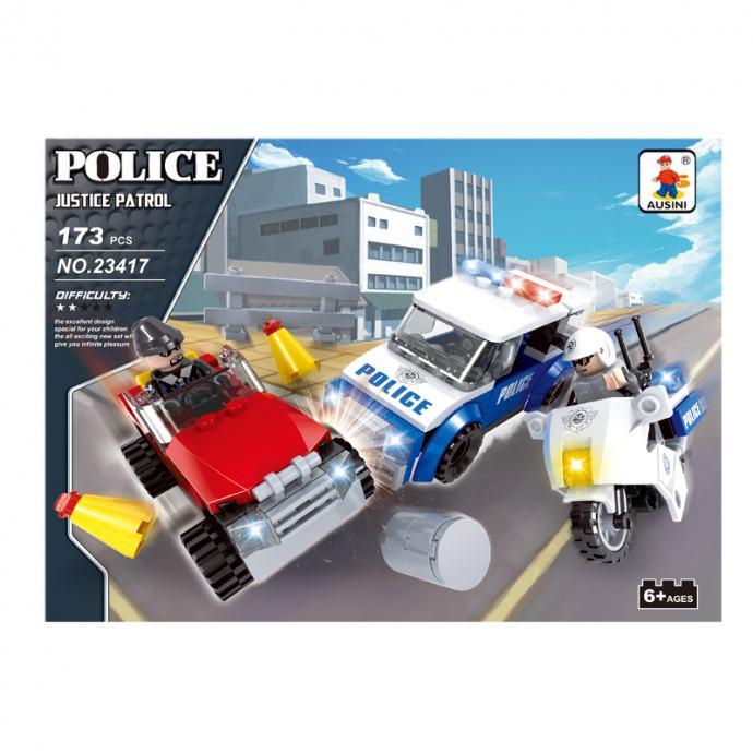 Policijska patrola, set kockica, NOVO, ZAPAKIRANO , dostava cijela HR