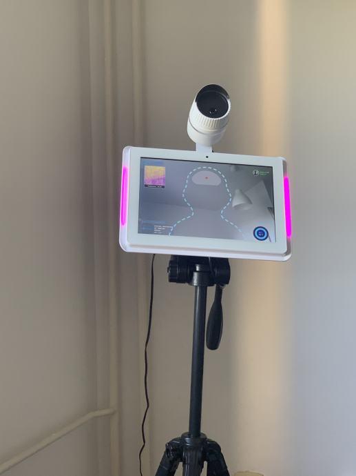 Termovizijska kamera sa prepoznavanjem lica