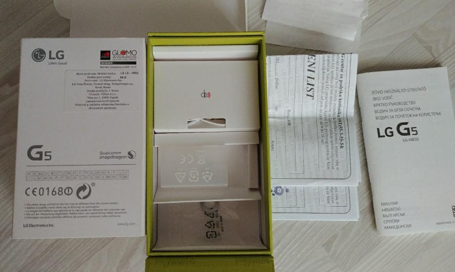 LG G5 Gold zlatni