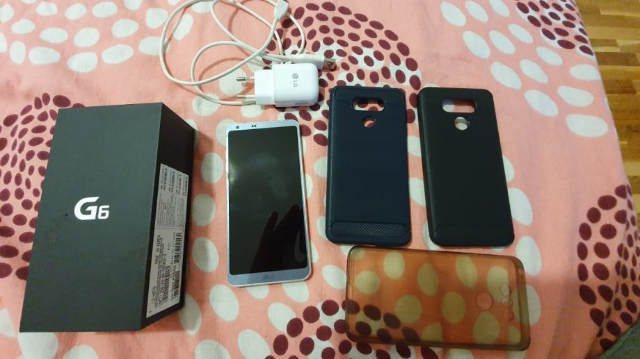 LG G6 + 3 maskice
