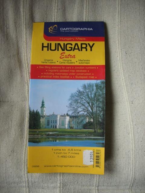 Auto Karta Mađarske 1 450 000 1 2 Gratis Akcija