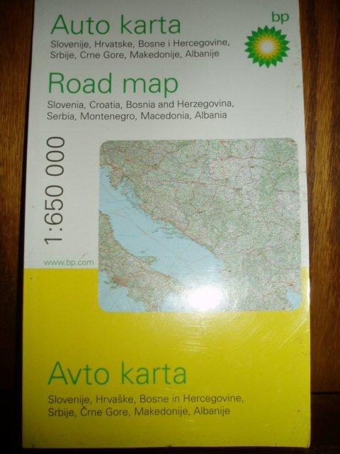 Karta Slovenije