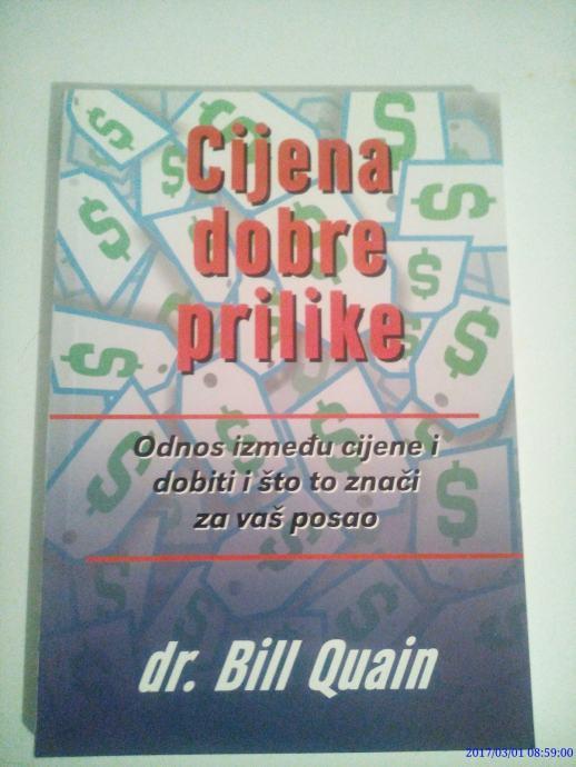 BILL QUAIN : Cijene dobre prilike