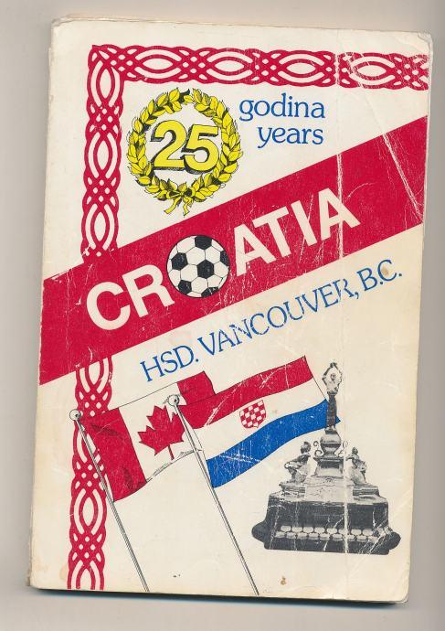 S.C. Croatia Vancouver 1961-1986 hrvatski nogometni emigrantski klub