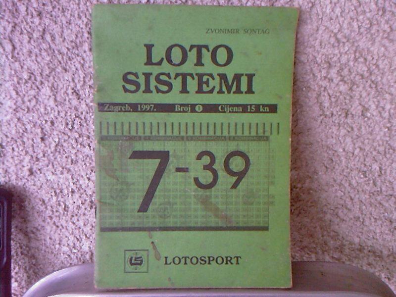 loto sistemi 7 39 zvonimir sontag. Black Bedroom Furniture Sets. Home Design Ideas