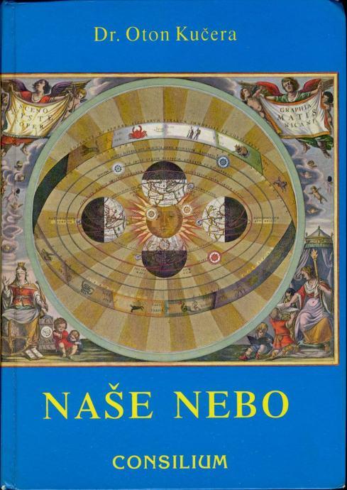 Oton Kučera Naše nebo Crtice iz astronomije Pretiskano 3 izdanje 1995