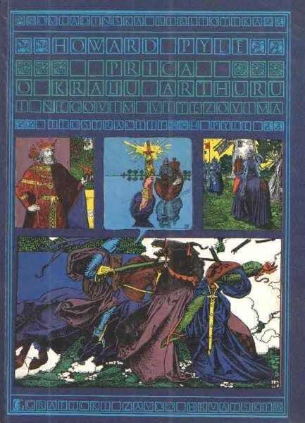 Priča o kralju Arturu i njegovim vitezovima- Howard Pyle