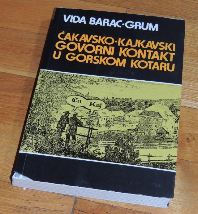 Vida Barac Grun Čakavsko kajkavski govorni kontakt u Gorskom kotaru