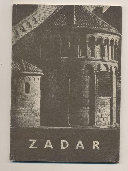Zadar turistički vodič 1962 posveta